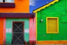 Ciudades de colores / Las ciudades más coloridas del mundo