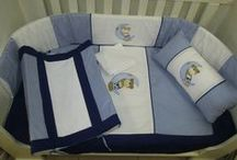 Star Teddies / Star Teddies are perfect for any boys nursery, they are too cute and welcome any baby home to his new room!