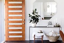 • welcome • / Inspirational entryways