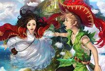 Peter Pan / My very first crush. LOL.