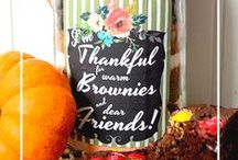 Fall/Thanksgiving Crafts / Printable DIY craft projects for fall and Thanksgiving!