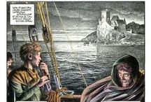 comics (Gianni De Luca + Sergio Toppi)