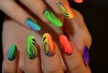 nails & make upe & hair