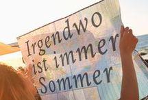 Sommergeschenke / Oh yes, It's summer! Ganz klar die beste Zeit des Jahres. Doch was machen gute Sommergeschenke aus? Wir haben uns mal ein paar Gedanken macht und tragen jetzt hier unsere Geschenkideen für den Sommer zusammen :)