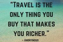 Inspirational travel quotes / A collection of our favourite quotations about travel to get you in the mood for your next holiday adventure.