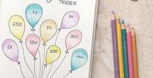 Bullet Journal / A board filled with inspiration for bullet journaling.  I use my bullet journal to organize my blogging, my garden and my homeschooling.  Find inspiration for pages, design, doodles, different types of bullet journaling, the tools of the trade and more.