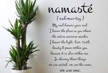 Namaste / Yoga and meditation / by Stormi