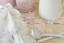 Pink at Home / by Janet Parrella-van den Berg - White & Faded