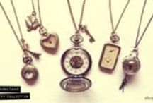 Alice in Wonderland Jewellery / Alice in Wonderland Collection. Inspired by all things vintage, kitsch and Wonderland. Tea party charms and vintage style pocket watches galore ♥
