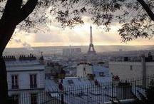Paris  / On a visit to Paris, la ville de l'amour.