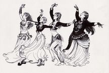 Belly dance / Costumes, etc. / by Ryann Dove