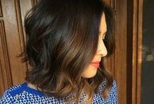 Hair // Pretty Bob Hair Ideas / Inspiration for pretty bobs and waves that are easy to style