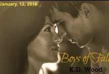 Boys of Fall / Pinterest board for the Seasons erotic short, Boys of Fall by K.D. Wood