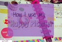 Productivity // Happy Planner / Using a MAMBI Happy Planner - creative layout ideas