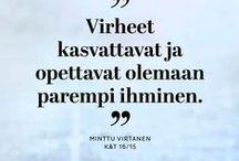 Voimasanoja arkeen / Kauneus & Terveys -lehden haastateltavat antavat lempeitä ja fiksuja neuvoja.