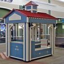 Outdoor RMU / Outdoor retail merchandising units. Outdoor finishes, custom built and custom designed.