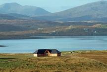 Holiday houses on Scottish Islands