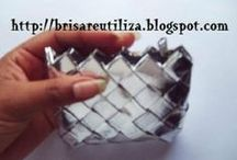 Abalorios de reciclaje / by Maria Pelayo