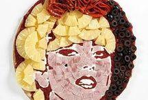 Food art / Quand les plats se transforment en tableau 2D ou 3D.