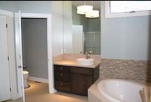 Bathrooms / Bathrooms inspired by our clients and designed by our team at Advantage Development