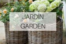 Jardin & Garden / Photos et idées pour bien décorer et aménager le coin jardin à la maison.   Photos and ideas to decorate well and fit the corner garden at home.