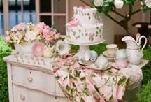 ENCHANTED, RUSTIC, SHABBY GARDEN WEDDING AND PARTY / by Betty BERGER