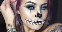 Halloween 2017 / Halloween, Halloweenlook, Halloweenmakeup, facepaint, faceart, Halloweenverkleidung