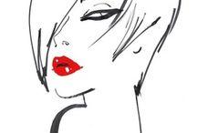 fashion illustration / by Azuul Gabrielle