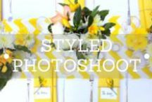 Styled Shoots / Decorit Events styled photo shoots featuring linen,centerpieces and floral