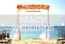 Ceremony Beach / Decorit Events have designed many beach ceremonies around wonderful beaches