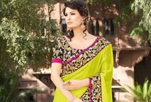 Designer Sarees / Buy sarees for every occasion like parties, wedding, festivals. We offer a wide range of sarees in variety of colors & fabric : http://goo.gl/icD2XP