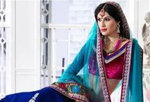 Wedding Bridal Lehenga Choli / When it comes to wedding, the brides always prefer to wear ethnic and tradtional dresses, such as lehenga choli. We MishreeSaree provide you with vast variety of designer and traditional bridal lehenga cholis to chose from, at best prices. http://www.mishreesaree.com/Online/Lehengas