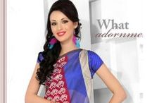 Casual Printed Sarees / Flaunt off your elegant and graceful look from latest and stylish collection of daily wear casual printed sarees online from : http://www.mishreesaree.com/Online/Sarees/Printed-Sarees