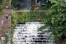 Outdoors: Ponds & Water Features / There is nothing more relaxing then the gentle trickling of water. Water features, small or large, are a must for every garden. I'm yet to get mine but I can dream & pin in the mean time!