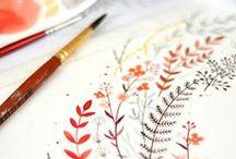 Watercolor / Watercolor Painitings
