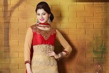 Pakistani Style Straight Suits / Glamorize your look with trendy & elegant collection of pakistani style straight cut salwar suits. Have a look at the collection from http://www.mishreesaree.com/Online/Salwar-Kameez
