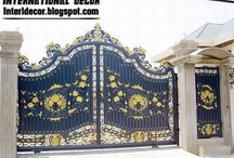 railings gates / Wrought iron