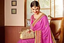 Fresh: Stylish Designer Sarees / Add more glam to your style statement with our all new & fresh collection of gorgeous designer party wear sarees. Choose now from http://www.mishreesaree.com/Online/Sarees/Designer-Sarees