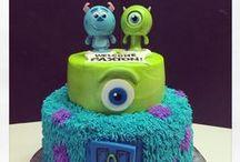 Birthday Cakes and Snacks // Bursdag Kaker og Snacks / Her finner du tips og ideer bursdagskaker