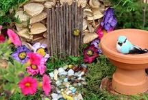 Miniature Gardens / Gorgeous, enchanted gardens for kids (and adults!) to enjoy