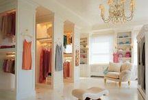 Walk-in closet ideas...