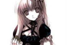 Gothic girls anime