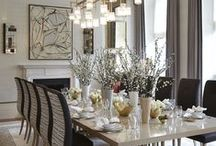 Dining room & decorating ideas...