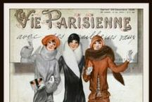 Vintage French Magazine Covers and Prints
