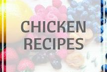 Chicken Recipes / Chicken recipes // healthy recipes // easy recipes #chickenrecipes