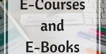 E-courses and E-books / Information on how to create an e-course and e-book.