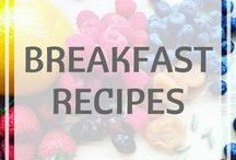 Breakfast Recipes / breakfast recipes // easy recipes // overnight oats and more // healthy recipes // diet // weight loss inspiration // breakfast ideas #healthyeating #breakfast #healthybreakfast