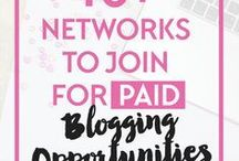 Blogging: A Profitable Blog / How to monetize your blog to create a profitable & steady income source.