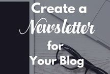 Blogging: Email Newsletters / How to create a Newsletter for an email mailing list.