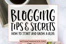 Blogging: How to Blog / How to start a blog.
